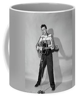 1950s Rockabilly Singer In Front Coffee Mug