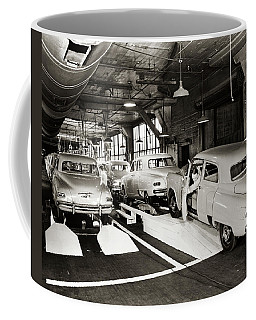 1950s Studebaker Automobile Production Coffee Mug