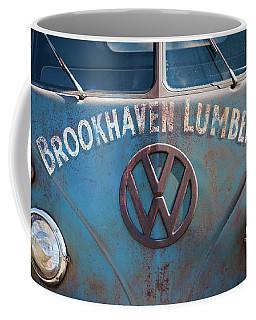 1950s Vw Bus At Antique Car Show, Cape Coffee Mug