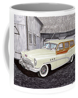 1953 Buick Estate Wagon Woody Coffee Mug