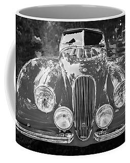 1954 Jaguar Xk 120 Se Ots Bw Coffee Mug