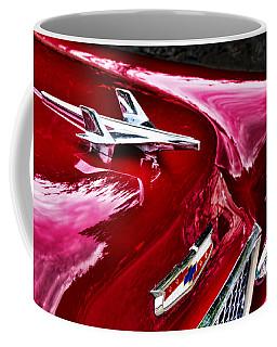 1955 Chevy Bel Air Hood Ornament Coffee Mug