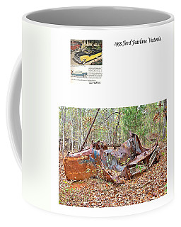 1955 Ford Fairlane Victoria Coffee Mug