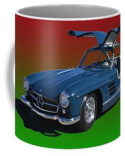1955 Mercedes Benz 300 S L  Coffee Mug by Jack Pumphrey