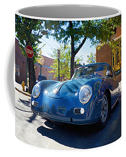 1956 356 A Sunroof Coupe Porsche Coffee Mug