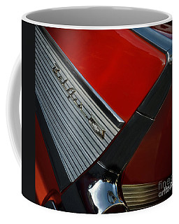1957 Chevrolet Bel Air Convertible Coffee Mug by Mary Machare