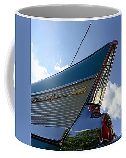 1957 Chevrolet Bel Air Fin Coffee Mug