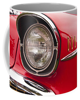 1957 Chevrolet Bel Air Headlight Coffee Mug