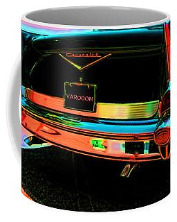 1957 Chevy Art Red Varooom Coffee Mug