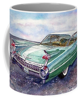 1959 Cadillac Cruising Coffee Mug