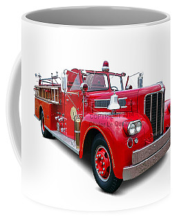 1959 Maxim Fire Truck Coffee Mug
