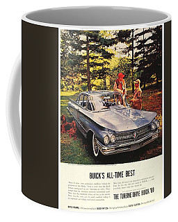 1960 - Buick Lesabre Sedan Advertisement - Color Coffee Mug