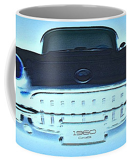Coffee Mug featuring the photograph 1960 Corvette by Greg Moores