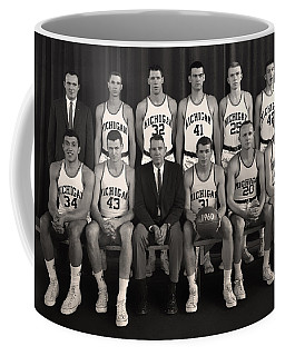1960 University Of Michigan Basketball Team Photo Coffee Mug