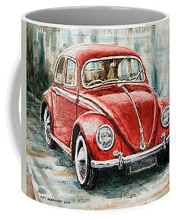 1960 Volkswagen Beetle 2 Coffee Mug