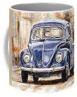 1960 Volkswagen Beetle Coffee Mug