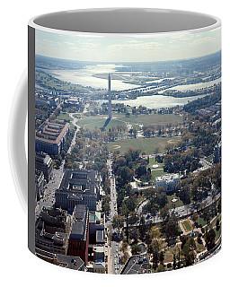 1960s Aerial View Washington Monument Coffee Mug