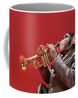 1960s Chimpanzee Wearing Sport Jacket Coffee Mug