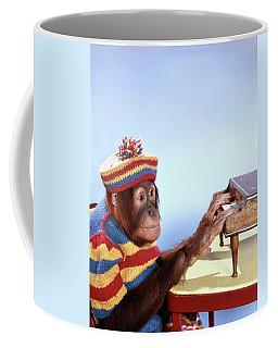 1960s Funny Humorous Orangutan Pongo Coffee Mug