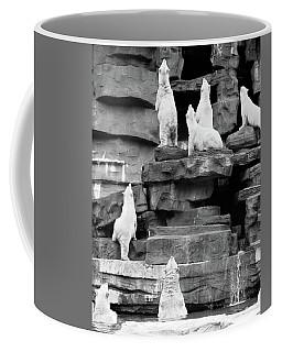 1960s Group Of Polar Bears Standing Coffee Mug