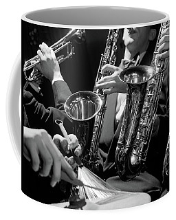 1960s Hands Of Anonymous Jazz Combo Coffee Mug