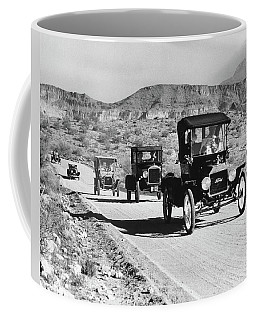 1960s Line Of 1920s Model T And 1930s Coffee Mug