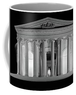 1960s Thomas Jefferson Memorial Lit Coffee Mug
