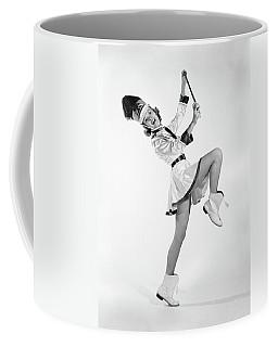 1960s Woman Majorette Band Uniform Coffee Mug