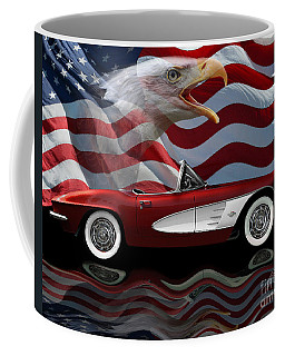 1961 Corvette Tribute Coffee Mug