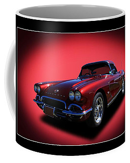 Coffee Mug featuring the photograph 1962 Corvette by Keith Hawley