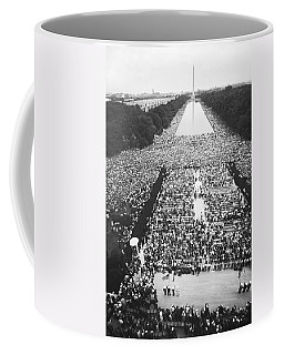 1963 March On Washington Coffee Mug