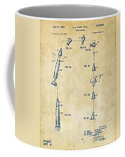 1963 Space Capsule Patent Vintage Coffee Mug