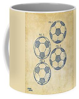 1964 Soccerball Patent Artwork - Vintage Coffee Mug