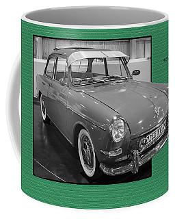 1965 Vw Notchback Coffee Mug