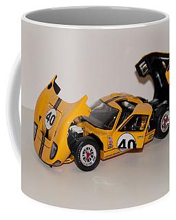 1966 Ford Gt40 - Diecast Coffee Mug