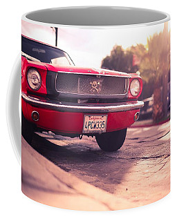 Coffee Mug featuring the photograph 1966 Ford Mustang Convertible by Gianfranco Weiss