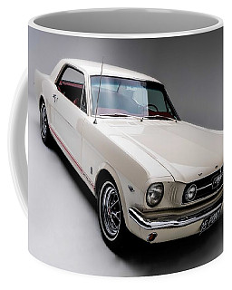 Coffee Mug featuring the photograph 1966 Gt Mustang by Gianfranco Weiss