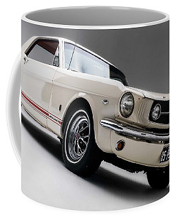 Coffee Mug featuring the photograph 1966 Mustang Gt by Gianfranco Weiss