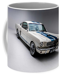 Coffee Mug featuring the photograph 1966 Mustang Gt350 by Gianfranco Weiss