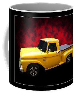 Coffee Mug featuring the photograph 1966 Pickup by Keith Hawley