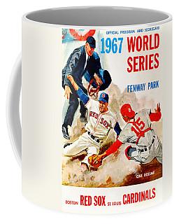 1967 World Series Program Coffee Mug