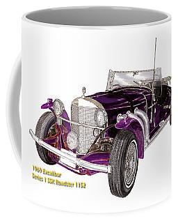 1969 Excalibur Ss Roadster Coffee Mug