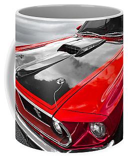 1969 Red 428 Mach 1 Cobra Jet Mustang Coffee Mug