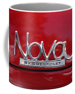 1970 Chevy Nova Logo Coffee Mug by John Telfer