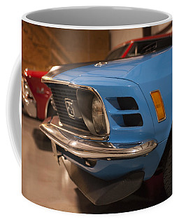 1970 Mustang Mach 1 And Other Classics Hidden In A Garage Coffee Mug