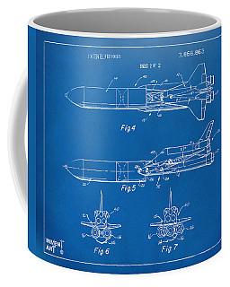 1975 Space Vehicle Patent - Blueprint Coffee Mug