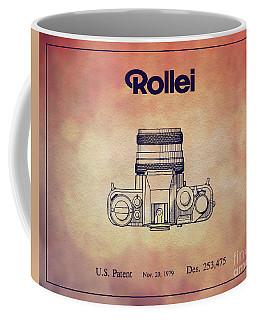 1979 Rollei Camera Patent Art 2 Coffee Mug
