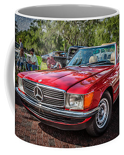 1984 Mercedes 500 Sl Painted  Coffee Mug