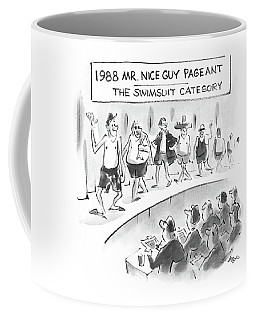 1988 Mr. Nice Guy Pageant-the Swimsuit Category Coffee Mug