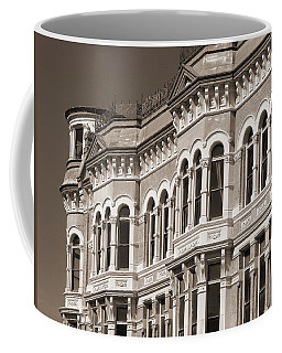 19th Century Architecture In Sepia Coffee Mug by Connie Fox